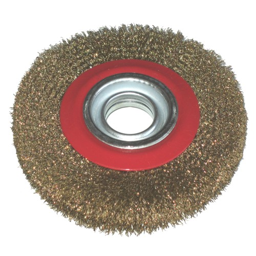 Toolzone 6 Quot Wire Wheel For Bench Grinder Tools Amp Leisure